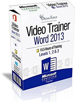 Word 2013 Training Videos - 15.5 Hours of Word 2013 training by Microsoft Office: Specialist, Expert and Master, and Microsoft Certified Trainer (MCT), Kirt Kershaw