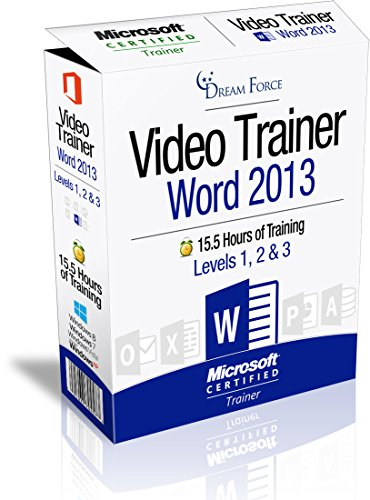 New 2013 Collection - Word 2013 Training Videos - 15.5 Hours of Word 2013 training by Microsoft Office: Specialist, Expert and Master, and Microsoft Certified Trainer (MCT), Kirt Kershaw