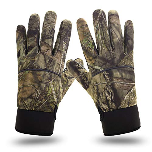 Eamber Camouflage Hunting Gloves