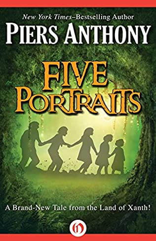 book cover of Five Portraits