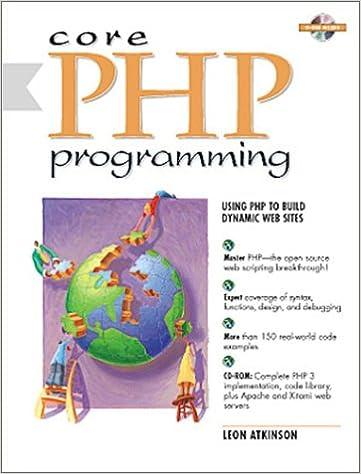 Core Php Book