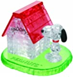 Jeruel 59133 - Crystal Puzzle - Snoopy House