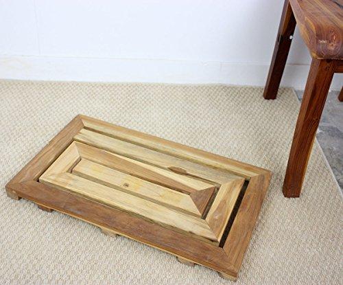 Haussmann Teak Maze Spa Mat (Furniture Thailand Teak)