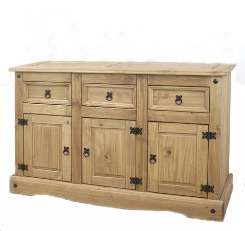 Antique wood sideboard premium large wooden storage