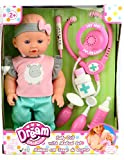 Family Games Dream Collection Baby Doll with Medical Set- Colors May Vary