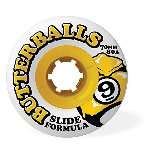 Sector 9 Slide Butterballs Longboard Wheels - 70mm 80a (Set of 4)