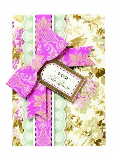 Anna Griffin For The Bride Bow and Tag Greeting -