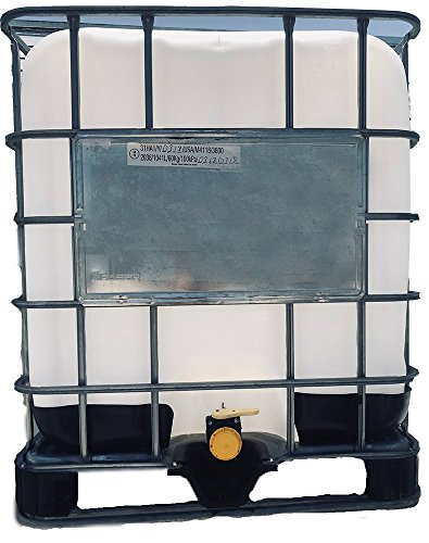 275 Gallon, New Re-Bottled/IBC Totes |New Bottle & Used CAGE (275 Gallon Caged Water Tank Ibc Tote)