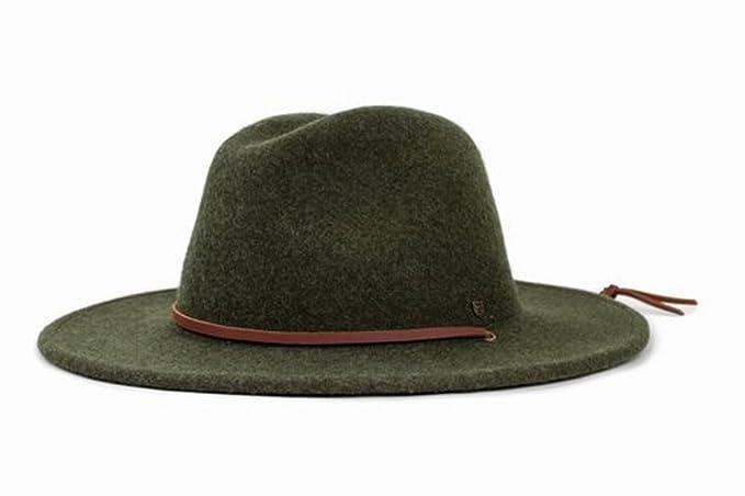 Brixton Hats Field Fedora Hat - Heather Green  Amazon.co.uk  Clothing 2d473cb29b3