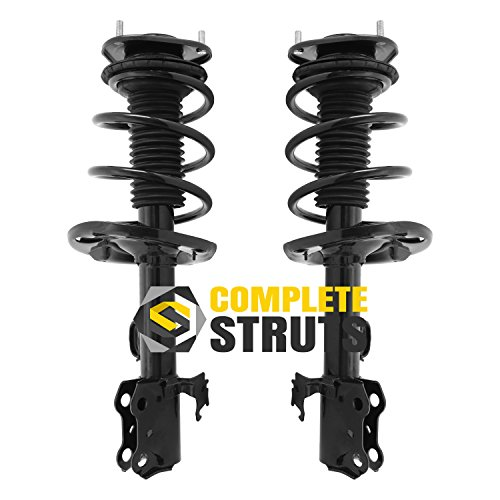 Front Quick Complete Struts & Coil Spring Assemblies Compatible with 2006-2008 Toyota RAV4 (Pair)
