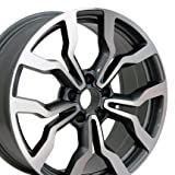 vw rims 18 - 18x8 Wheel Fits Audi, Volkswagen - Audi R8 Style Gunmetal Rim