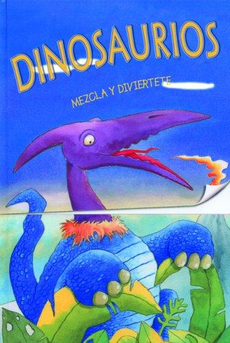 Mezcla y diviertete: Dinosaurios: Mix-up Pop-ups: Jurassic Jumble, Spanish-Language Edition (Spanish Edition) by Brand: Silver Dolphin en Espanol