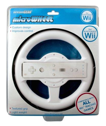 Wii Micro Wheel - White