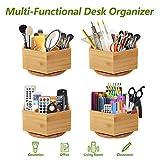 Marbrasse Bamboo Art Supply Desk
