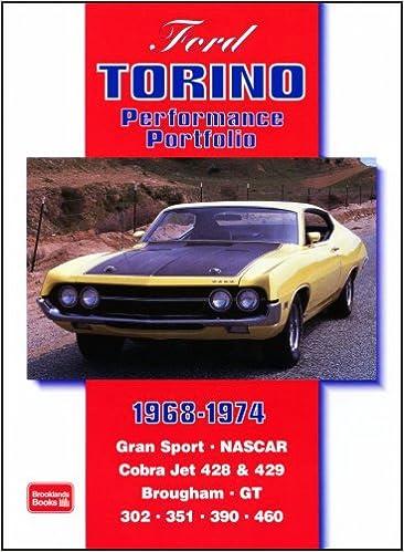 Ford Torino   Performance Portfolio R M Clarke  Amazon Com Books