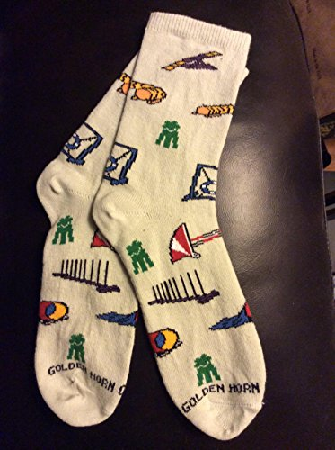 AKC AGILITY MACH Dog Novelty Ladies Socks obedience training