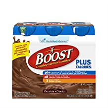 BOOST Plus Calories Chocolate, 6x237ml (Pack of 6)