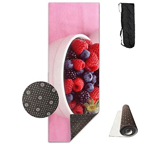 Crystal Berry Bowl - Berry Bowl Raspberries Strawberries Blackberries ECO Aqua Power Kinematic Iyengar Kundini Hot Pilates Gymnastics Hatha Yoga Mat Exercise Mat