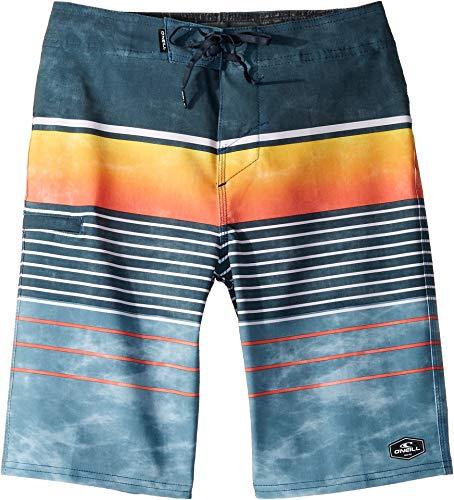 O'Neill Kids Boy's Hyperfreak Heist Swim Shorts (Big Kids) Navy 28 (Big Kids)