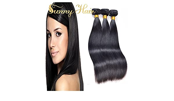 Sunny Virgin Brazilian Human Hair Weave 3 Bundles 300g 22