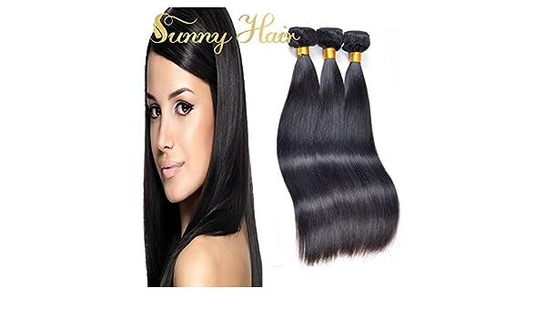 Sunny Virgin Brazilian Human Hair Weave 3 Bundles 300g 22