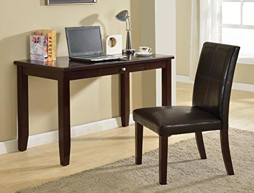 Brand New Donna Home Office Desk (47.8''x23''x31''H) and Chair (18''x20''x38'') Set