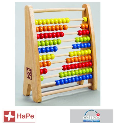 - Educo Rainbow Bead Abacus (ED810875)