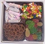Scott's Cakes Large 4-Pack Pectin Fruit Gels, Dark Pretzels, Salt Water Taffy, & Assorted Jelly Beans