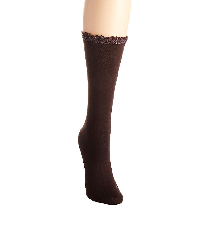 Hue Women's Lace Trim Socks
