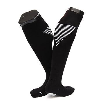 Calcetines de compresión, calcetines de fútbol por encima de la rodilla, calcetines de compresión