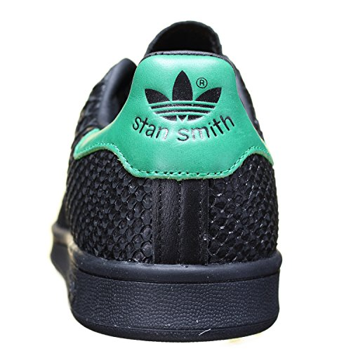 Basket Smith Vert Adidas Black et Croco Noir Stan T1aPTw