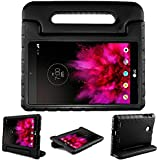 Bolete LG G PAD 7.0 Case Kiddie Toddler Kids ShockProof Light Weight Super Protection Handle Stand Cover Case for LG G Pad V400/V410 (LTE)/VK410/UK410/LK430 (G Pad F7.0) 7-Inch Android Tablet, Black
