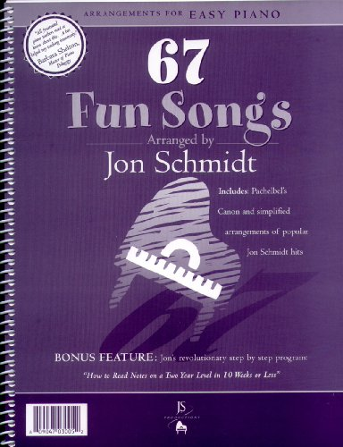 67 Fun Songs: Arrangements for Easy Piano - Sb Songs