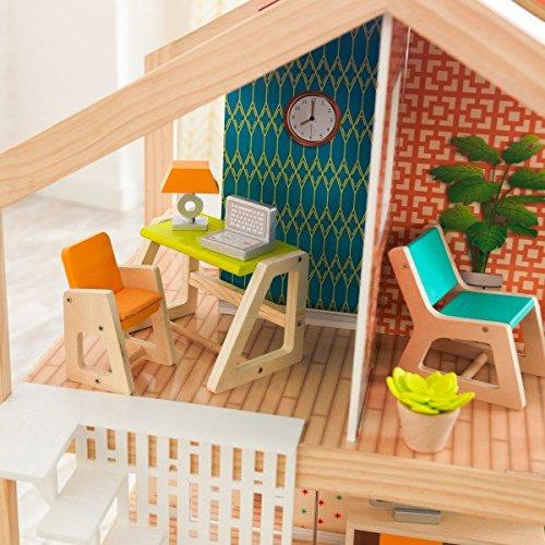 51EWP1v4zVL - KidKraft So Chic Dollhouse with Furniture