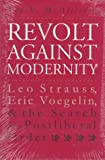 Revolt Against Modernity, Ted V. McAllister, 0700607404