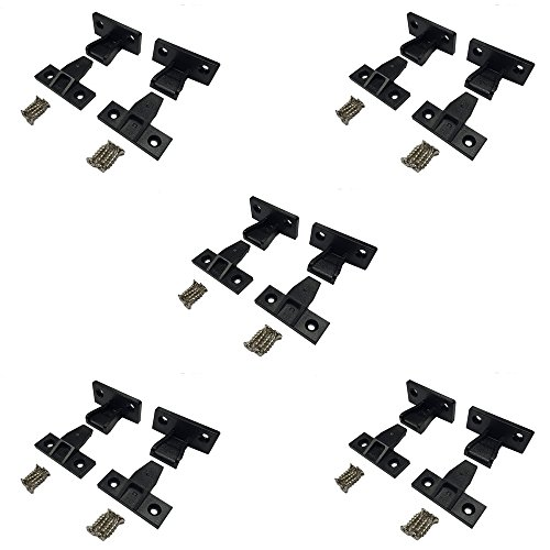 Hafele Keku H262.50.313 Push on Fitting (10 Sets) ()