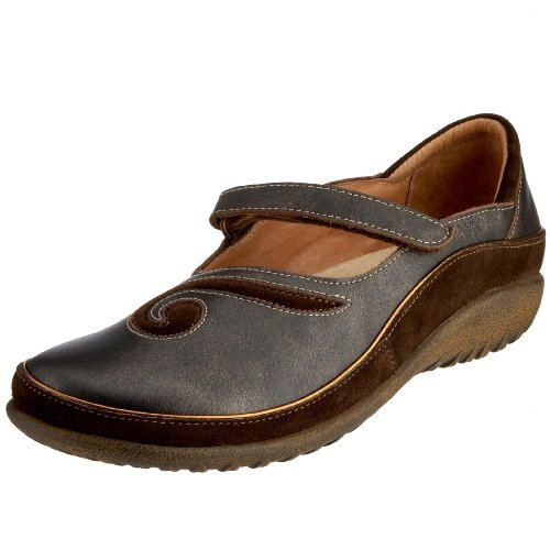 Women's Flat Jane Hash Black Naot Mary Leather Matai Suede Pearl 6vqCxwZ