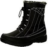 Totes Womens Eve Cold Weather Winter Boots,black,8   amazon.com