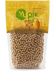 Yupik Organic Raw Chickpeas, Non-GMO, Vegan, Gluten-Free, 1Kg