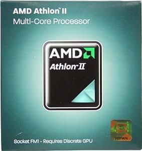 AMD Athlon II X4 631 2.6GHz 4x1 MB L2 Cache Socket FM1 100W Quad-Core Desktop Processor - Retail AD631XWNGXBOX