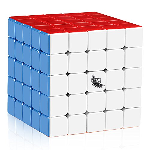 Large Rubiks Cube - D-FantiX Cyclone Boys 5x5 Speed Cube Stickerless Magic Cube Puzzle 64mm