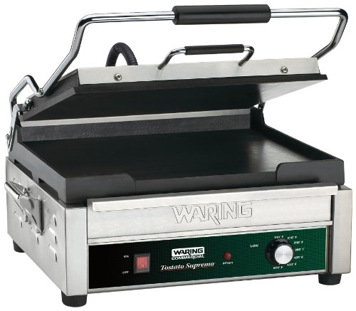 Waring Commercial WFG275 Tostato Supremo 14 by 14-Inch Flat Toasting Grill (Kitchen Restaurant Equipment)