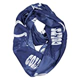 NFL Indianapolis Colts Silky Spatter Infinity Scarf