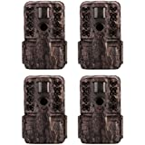 Moultrie M-50i 20MP Low Glow Invisible IR Game Camera (4 Pack)