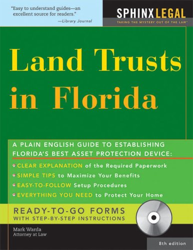 Land Trusts in Florida with CD, 8E Text fb2 ebook