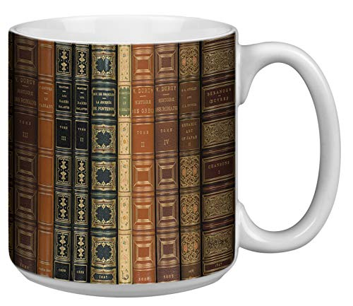 Books Extra Large Mug - 20 Ounce Capacity Jumbo Coffee Mug