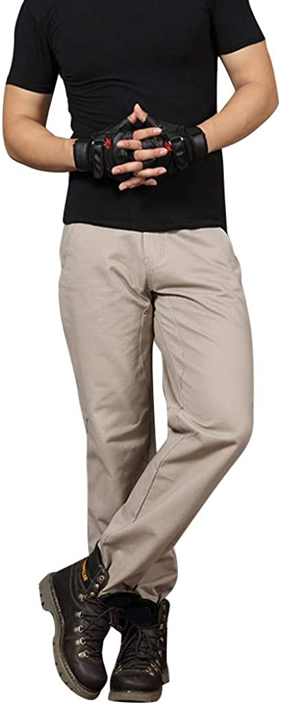 Men Pants,2019 New Casual Classic Straight Loose Relaxed Fit Outdoor Overall Pant