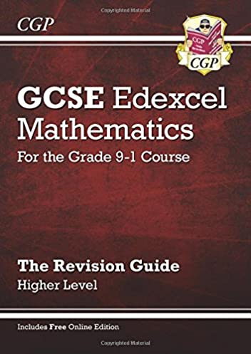 gcse maths edexcel revision guide higher for the grade 9 1 course rh amazon com