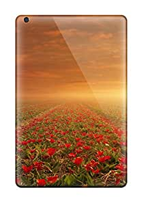 Best New Super Strong Flower Fields Tpu Case Cover For Ipad Mini 3 6014341K61319599