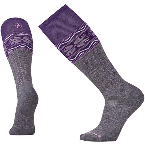 SmartWool PhD Slopestyle Medium Wenke Socks (Medium Gray) Large
